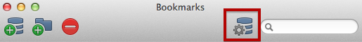 Bookmarks Window