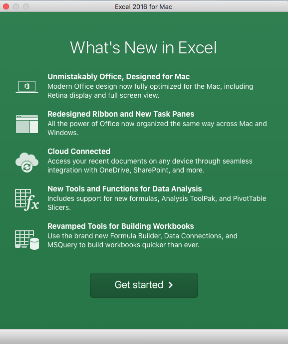 Demystify Office 2016 for Mac